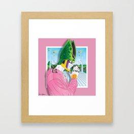 Perfect Killa Pink Framed Art Print