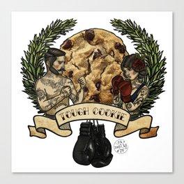 Tough Cookie, One In A Dozen Canvas Print