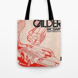 Vintage Australian Motorsport Poster 1972 Tote Bag