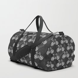 Bicycle Pattern Duffle Bag