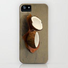 Coconut iPhone Case