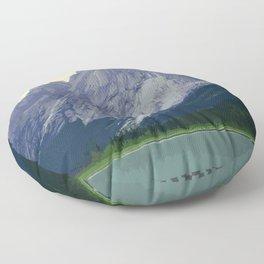 Nahanni National Park Poster Floor Pillow