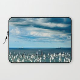 The Barcolana regatta in the gulf of Trieste Laptop Sleeve