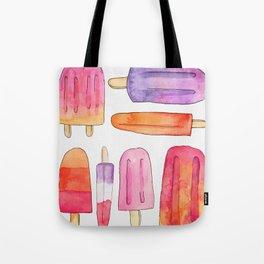 Summer Popsicles Tote Bag