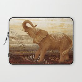 Happy Elephant Laptop Sleeve