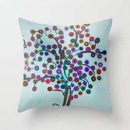 Surreal Tree 3 Throw Pillow
