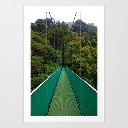 Into the Jungle Art Print