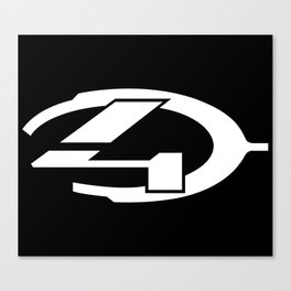 Halo 4 logo Canvas Print