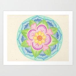 Clearing Mandala Art Print