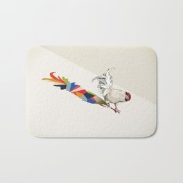 Walking Shadow, Rooster Bath Mat