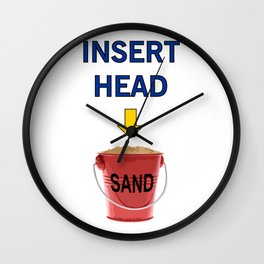 INSERT HEAD 01 Wall Clock