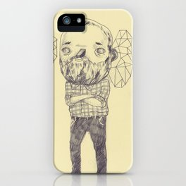 Staring iPhone Case