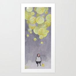 Paper Light Art Print