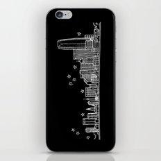 Oklahoma City skyline iPhone & iPod Skin