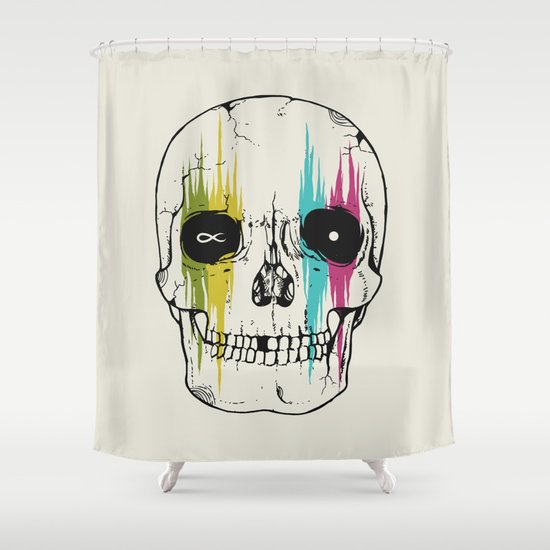 It All Ends Shower Curtain