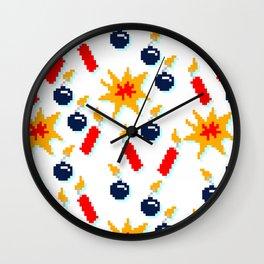 8BitBombzzzz!!! Wall Clock