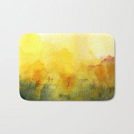 Memory of a landscape Bath Mat