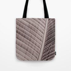 Palm Frond Veins Tote Bag