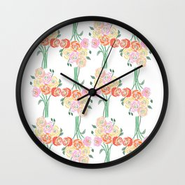 Spring is everywhere Wall Clock