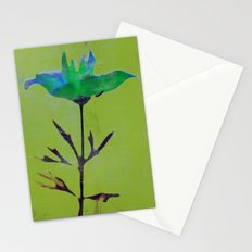 Flowers or Stars Stationery Cards