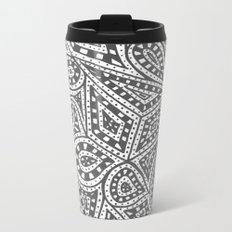 Doodle 9 Metal Travel Mug