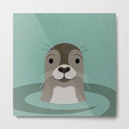 Sea you Seal Metal Print
