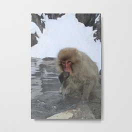 King of the Onsen Metal Print