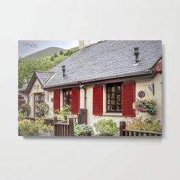 Banks of Loch Lomond Metal Print