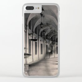 Arch girl Clear iPhone Case