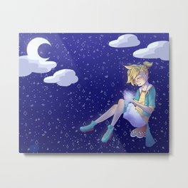 Kagamine Len - Satisfaction Metal Print