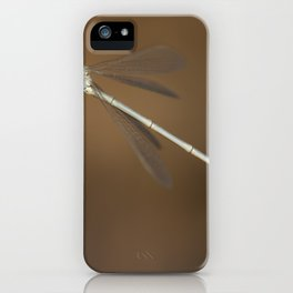 Dragonfly. iPhone Case