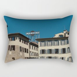 Vintage Italian Advertisement Rectangular Pillow
