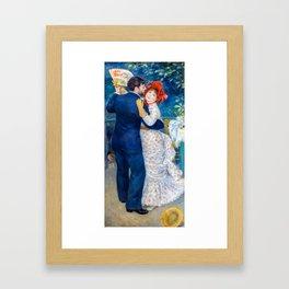 Pierre-Auguste Renoir - Country Dance Framed Art Print
