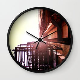 Light Above Dearborn Wall Clock