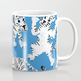 Mystical White Tigers at Play Coffee Mug