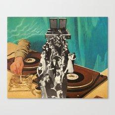 high class music Canvas Print