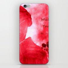 Wish You a ........ iPhone & iPod Skin