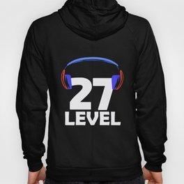 27th Birthday Gamer Video Game 27 Year Gaming Gift Hoody