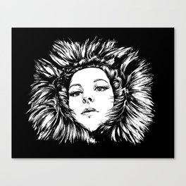 FUR portrait T. Canvas Print