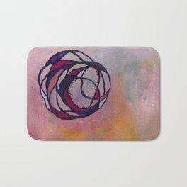 Pink Spiral Bath Mat