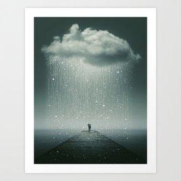 Weathering the Storm Art Print
