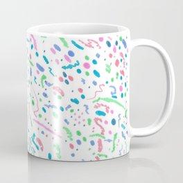Confetti Splatter Pattern Coffee Mug