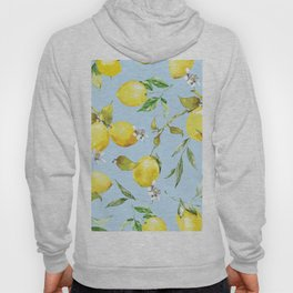 Watercolor lemons 10 Hoody