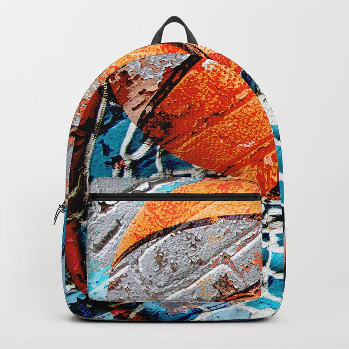 Modern basketball art 3 Rucksack