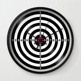 Dart Target Game Wall Clock