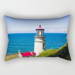 Keep an Eye Out - Heceta Head Lighthouse Rectangular Pillow