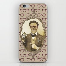 Monsieur Skull iPhone & iPod Skin