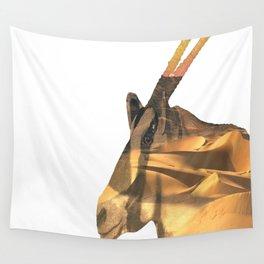 arabian oryx Wall Tapestry