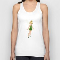 tinker bell Tank Tops featuring Tinker Bell by Anais.Lalovi
