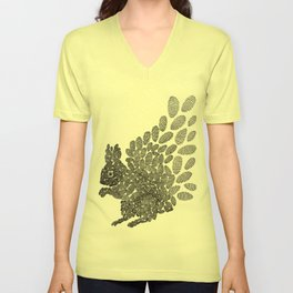 Squirrel Unisex V-Neck